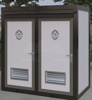 Mens/Womens Double Toilet Block