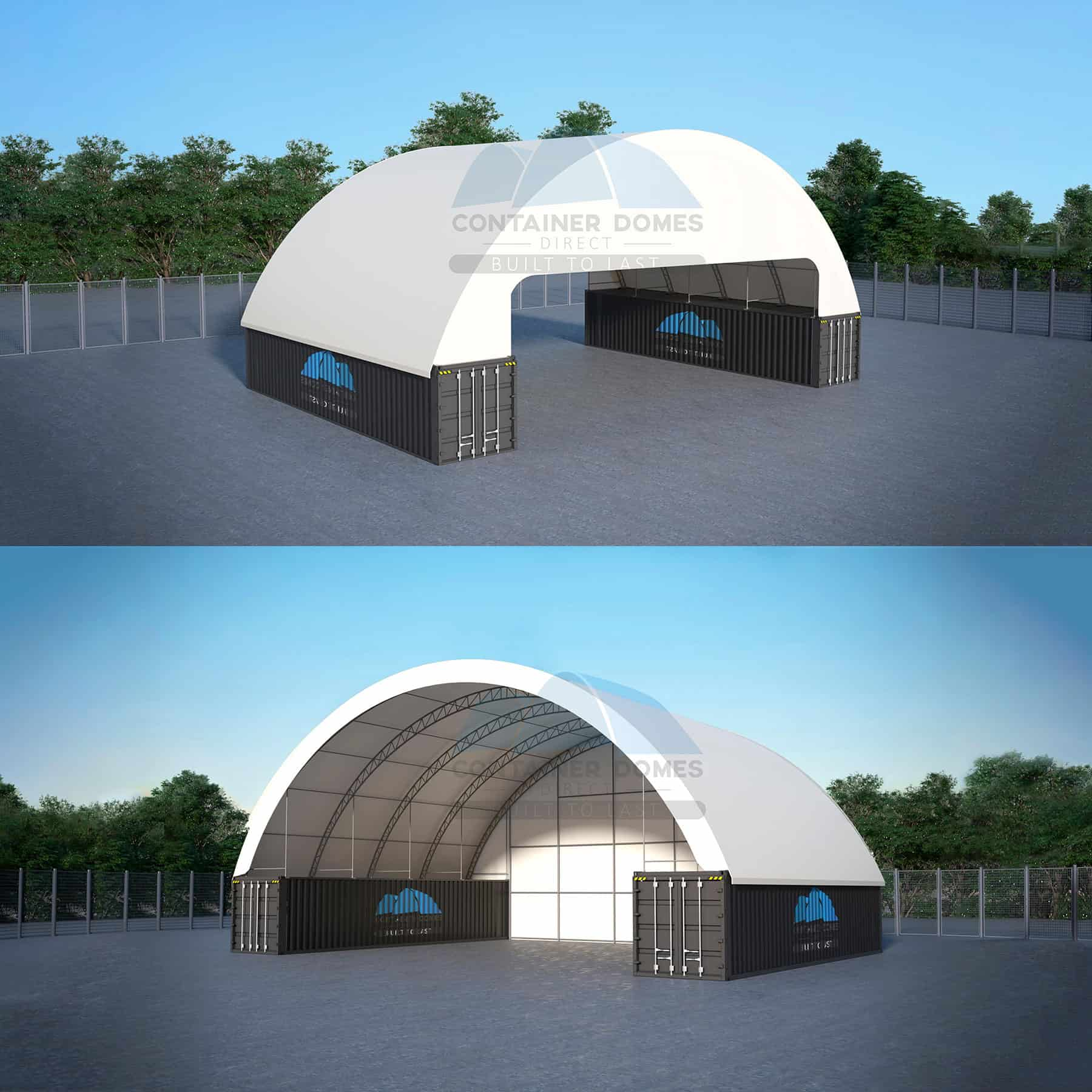 container domes cover