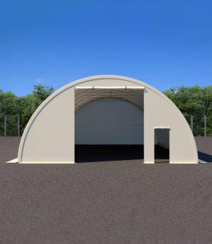 Large Ground Shelter + Door (9.1 x 12 x 4.5H)