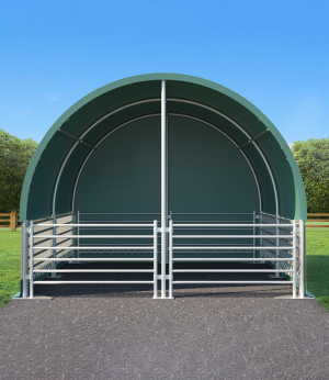 4x4 Livestock Shelter (4 X 4m X 3.1H)